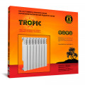 Tropic 350/80 10 секций, биметаллический радиатор