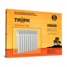 Tropic 350/80 10 секций, алюминиевый радиатор