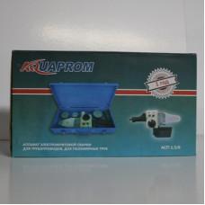 Cварочный аппарат AQUAPROM АСП 1,5 3 насадки пластиковый кейс
